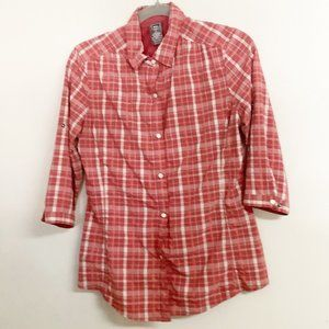 REI Pearl Button Top Size S